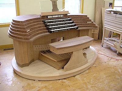 Adjustable Organ Bench